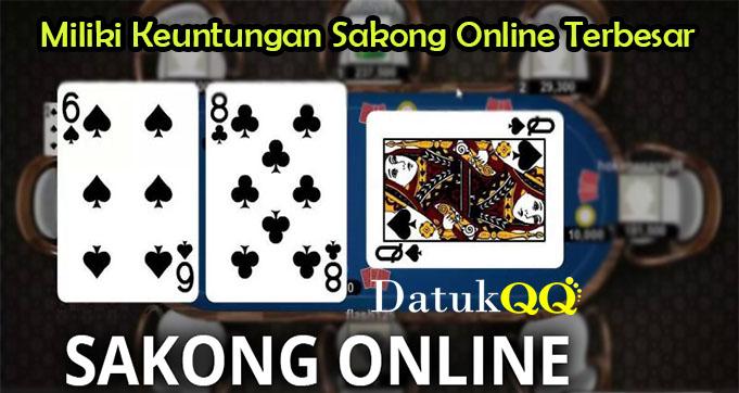 Miliki Keuntungan Sakong Online Terbesar